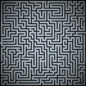 maze background image