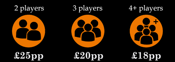 book escape room falkirk bookings player prices, per person